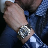 Zegarek męski Bulova precisionist 96G175 - duże 5