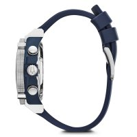 Bulova 98B315 zegarek srebrny sportowy Precisionist pasek