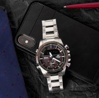 Edifice ECB-800DB-1AEF EDIFICE Premium BLUETOOTH SYNC LCD zegarek męski sportowy mineralne