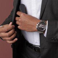 Edifice ECB-800DB-1AEF zegarek męski EDIFICE Premium srebrny