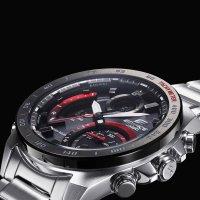 Edifice ECB-900DB-1AER zegarek srebrny sportowy EDIFICE Premium bransoleta