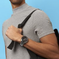 Edifice ECB-900DB-1AER EDIFICE Premium sportowy zegarek srebrny