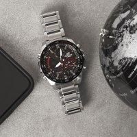 Edifice ECB-900DB-1AER EDIFICE Premium zegarek męski sportowy mineralne