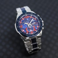 Edifice EFR-564TR-2AER zegarek srebrny sportowy EDIFICE Premium bransoleta