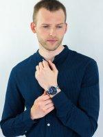 Zegarek męski Casio EDIFICE Premium EFR-568D-2AVUEF - duże 4