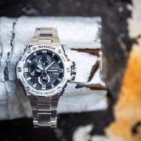 G-Shock GST-B100D-2AER męski smartwatch G-SHOCK G-STEEL bransoleta