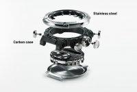 G-Shock GST-B200D-1AER zegarek srebrny sportowy G-SHOCK G-STEEL bransoleta