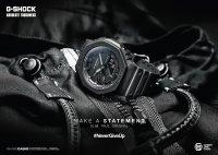 G-Shock GA-2100-1AER zegarek czarny sportowy G-Shock pasek