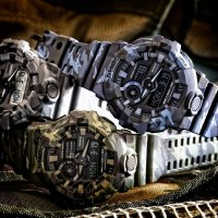 GA-700CM-2AER - zegarek męski - duże 8