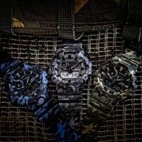G-Shock GA-700CM-8AER G-Shock sportowy zegarek szary