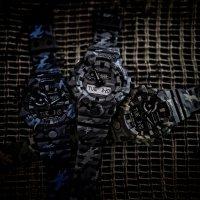 G-Shock GA-700CM-8AER zegarek szary sportowy G-Shock pasek