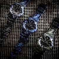 G-Shock GA-700CM-8AER G-Shock zegarek męski sportowy mineralne