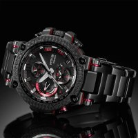 G-Shock MTG-B1000XBD-1AER G-Shock sportowy zegarek czarny