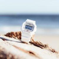 G-Shock DW-5600MW-7ER zegarek biały sportowy G-SHOCK Original pasek