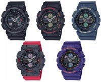 G-Shock GA-140-2AER zegarek niebieski sportowy G-SHOCK Original pasek
