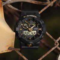 Zegarek G-Shock Casio NO COMPLY BLACK AND GOLD -męski - duże 4