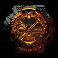 Zegarek męski Casio G-SHOCK Specials GA-110JOP-1A4ER czarny - duże 8