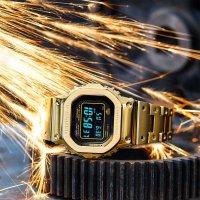 G-Shock GMW-B5000GD-9ER zegarek złoty sportowy G-SHOCK Specials bransoleta