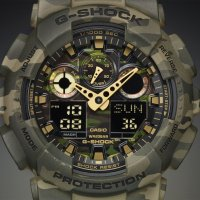 GA-100CM-5AER - zegarek męski - duże 8