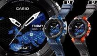 ProTrek WSD-F30-BUCAE zegarek czarny sportowy ProTrek pasek