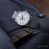 Certina C029.807.11.031.02 zegarek srebrny klasyczny DS-1 bransoleta
