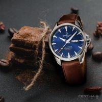 Certina C032.430.16.041.00 zegarek srebrny klasyczny DS Action pasek