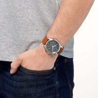 Citizen CA4420-21X zegarek srebrny sportowy Chrono pasek