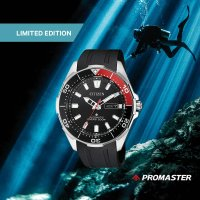 Citizen NY0076-10EE Promaster Divers 200m Marine Super Titanium Limited Edition zegarek męski klasyczny mineralne