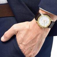 Citizen AW1212-10A zegarek klasyczny Leather