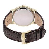 Citizen AW1212-10A męski zegarek Leather pasek