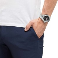 Citizen BN0211-50E zegarek srebrny klasyczny Promaster bransoleta