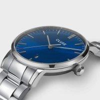 Cluse CW0101501011 zegarek srebrny klasyczny Aravis bransoleta