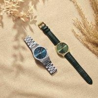 Cluse CW0101503003 zegarek srebrny klasyczny Vigoureux bransoleta