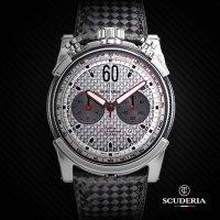 CT Scuderia CWEI00119 zegarek srebrny sportowy Bullet Head pasek