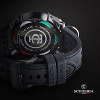 CT Scuderia CWEJ00119 zegarek czarny sportowy Bullet Head pasek