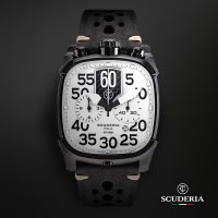 CT Scuderia CWEF00319 zegarek czarny sportowy Scrambler pasek