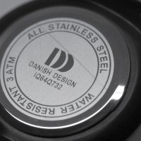 Danish Design IQ64Q732-POWYSTAWOWY zegarek męski Bransoleta