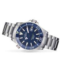Davosa 161.522.04 zegarek srebrny klasyczny Diving bransoleta