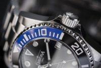 Davosa 161.559.45 zegarek srebrny klasyczny Diving bransoleta