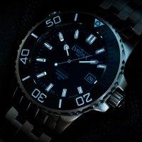 Davosa 161.576.40 zegarek srebrny klasyczny Diving bransoleta