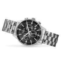 Davosa 163.481.55 zegarek srebrny sportowy Executive bransoleta