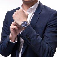 Epos 3437.132.20.16.30 Originale zegarek męski klasyczny szafirowe