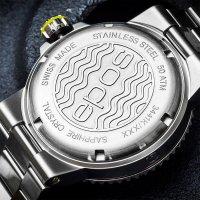 Epos 3441.131.20.55.30 zegarek srebrny klasyczny Sportive bransoleta