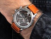 Zegarek męski fashion/modowy Tommy Hilfiger Męskie 1710336 szkło mineralne - duże 6