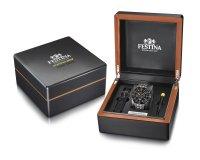 Festina F20453-1 zegarek srebrny sportowy Chrono Bike bransoleta