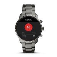 Fossil Smartwatch FTW4012 Gen 4 Smartwatch Q Explorist Smoke Stainless Steel zegarek fashion/modowy Fossil Q