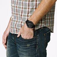 Fossil FS4487IE zegarek czarny klasyczny Machine pasek