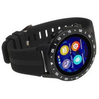 Garett 5903246287035 zegarek czarny sportowy Męskie pasek