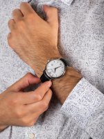Zegarek męski Grovana Pasek 1550.1532 - duże 5