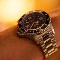 zegarek ICE Watch ICE.016031 kwarcowy męski ICE-Steel ICE Steel - Black silver rozm. M